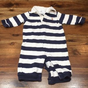Striped Ralph Lauren Romper